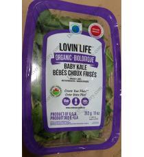 Lovin Life Organic Baby Kale, 312 g