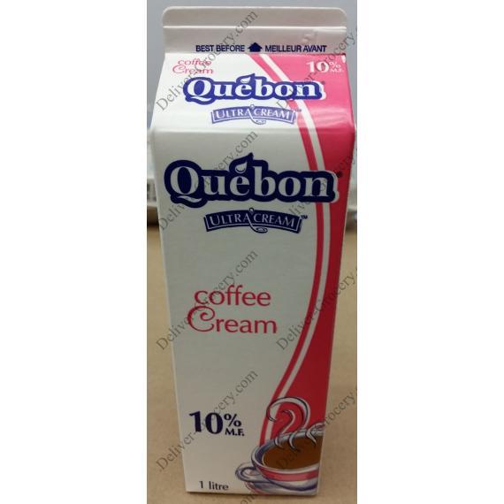 Quebon Coffee Creme 10%, 1 L