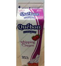 Quebon Whipping Creme 35%, 1 L