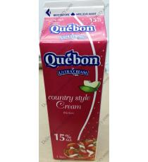 Quebon Country Style Cream 15%, 1 L