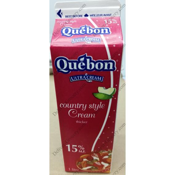 Quebon Style Campagnard La Crème 15%, 1 L