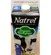 Natrel Organic Milk 2%, 2 L