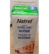 Natrel De Lait Bio 2%, 2 L
