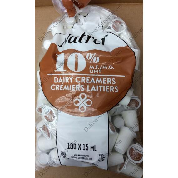 Natrel Coffee Creams 10%, 100 x 15 ml