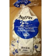 Natrel Laitiers Trayeurs 2%, 100 x 15 ml