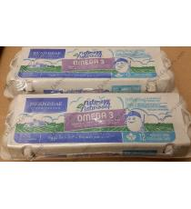 BURNBRAE Farms Large Omega 3 Eggs, 2 x 12