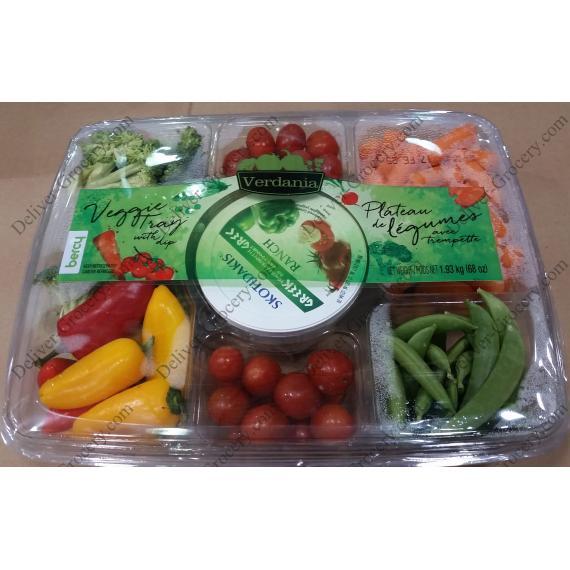 Verdania plat de Légumes avec une Trempette, 1.93 kg