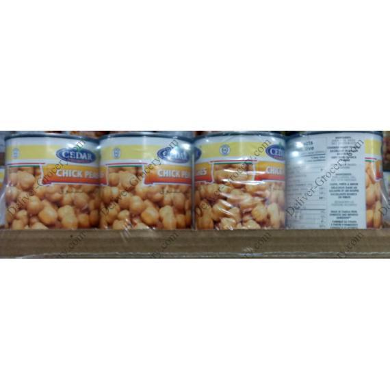 Le CÈDRE de Pois Chiches, 12 x 540 ml