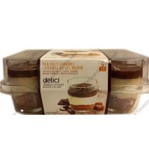Delici Sea Salt Caramel, 6 cups x 76 gr