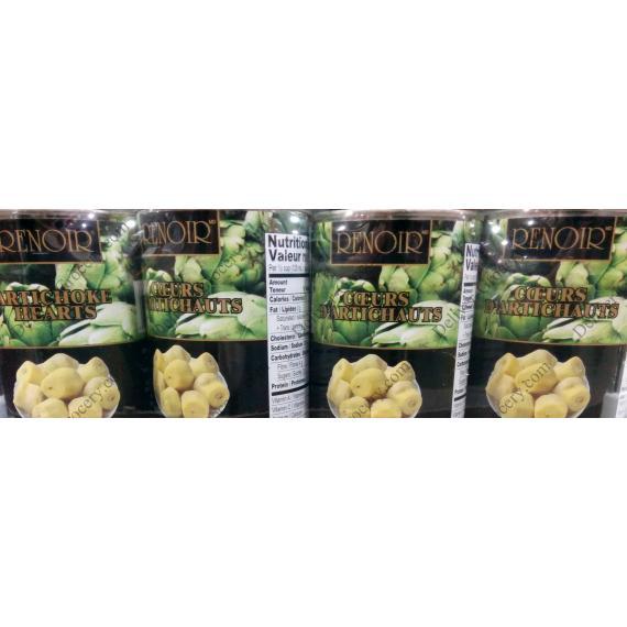 RENOIR Artichoke Hearts, 4 x 398 ml