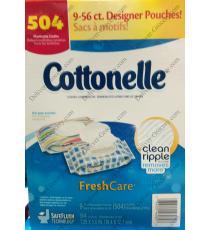 Cottonelle Fresh Care, 504 cloths