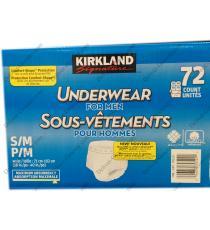 Kirkland Signature Underwear For Men, 72 counts