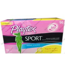 Playtex Sport Plastic Tampons, 96 counts
