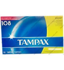 Les Tampons TAMPAX®, 108 X