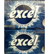 Excel Hiver Frais sans Sucre Gomme, 12 pièces