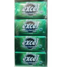 Excel Spearmint Sugar Free Gum, 8 packs