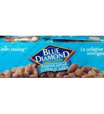 Blue Diamond Roasted Salted Almonds, 18 x 23 g