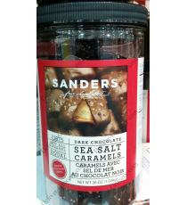 SANDERS Sea Salt & Caramel Dark Chocolate, , 1.02 kg