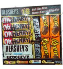 HERSHEYS Variety Pack, 18 bars