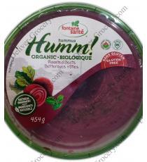 Fontaine Santé Organic Hummus, 2 x 454 g