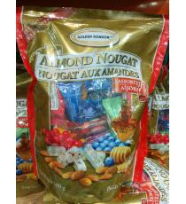 GOLDEN BONBON Assorted Almond Nougat, 500 g