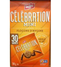 Lecrlerc Celebration Mini Oatmeal Cookies, 30 packs, 780 g