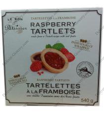 Le Bon Patissier Tartelettes à la Framboise, 540 g