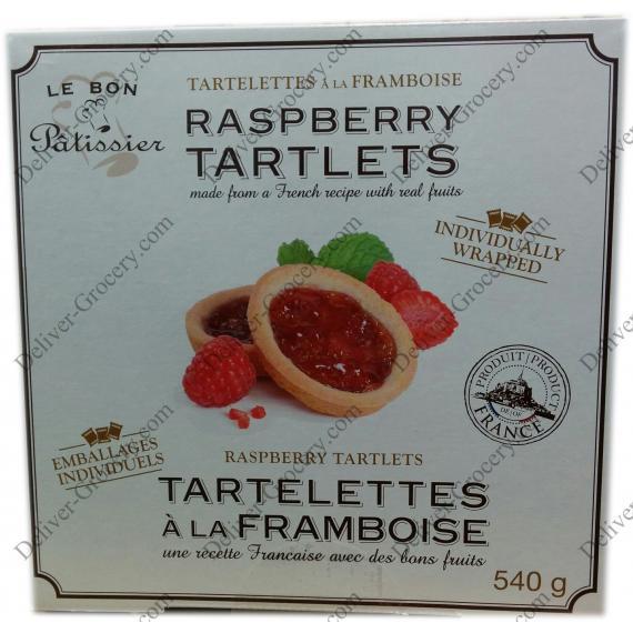 Le Bon Patissier Raspberry Tartlets, 540 g