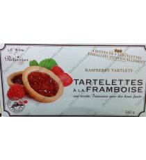 Le Bon Patissier Raspberry Tartlets, 540 g
