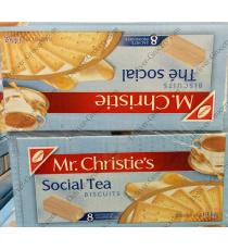 MR CHRISTIES Social Tea Coockies, 8 packs, 1.4 kg