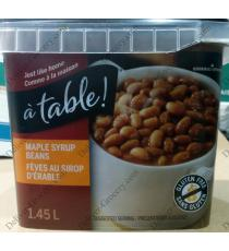 à table! Maple Syrup Beans, 1.45 L