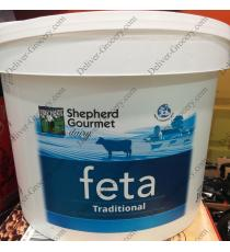 Shepherd Gourmet Dairy Traditional Cow Feta Cheese 3 kg