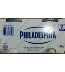 PHILADELPHIA Light Creme Cheese, 2 x 500 g