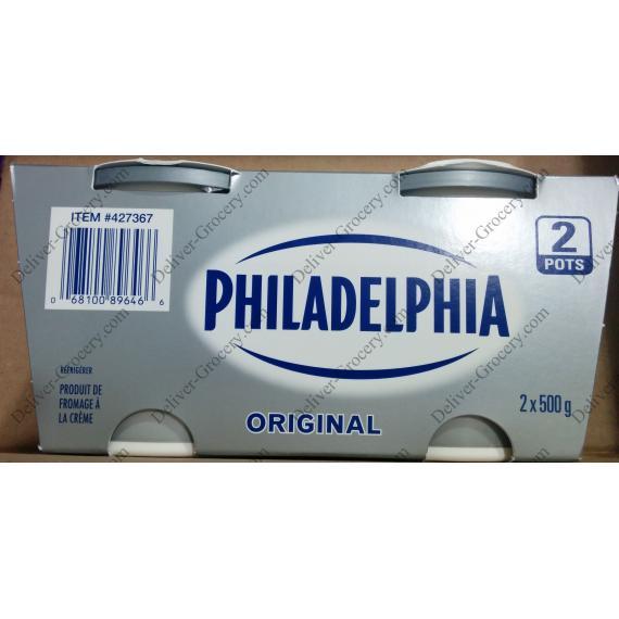 PHILADELPHIE Originale de la Crème de Fromage, 2 x 500 g