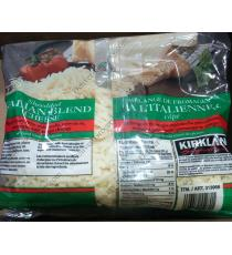 Kirkland Signature Shredded Italian Blend Cheese, 2 x 625 g