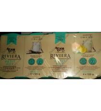 RIVIERA Ensemble de Style de Yogourt de 3,2%, 12 x 120 g