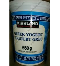 Kirkland Signature Greek Yogurt, 3 x 650 g