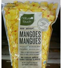 Natures Touch Frozen Mangoes, 2 kg