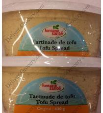 Fontaine Santé à la tartinade de Tofu Original, 2 x 430 g