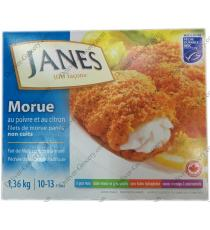 JANES Lemon Pepper Cod 10/13 fillets, 1.36 kg