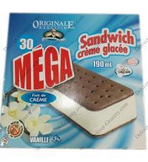 Original Augustin Ice Cream Sandwich, 30 x 190 ml