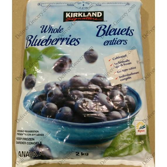Kirkland Signature Whole Blueberries, 2 kg