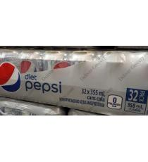 Pepsi Diet Cola Cans, 32 x 355 ml