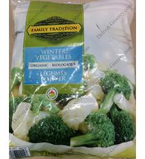 Family Tradition Organic Winter Vegetables, 1.5 kg