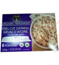 Cuisine Adventures Organic Steel Cut Oatmeal, 1.53 kg