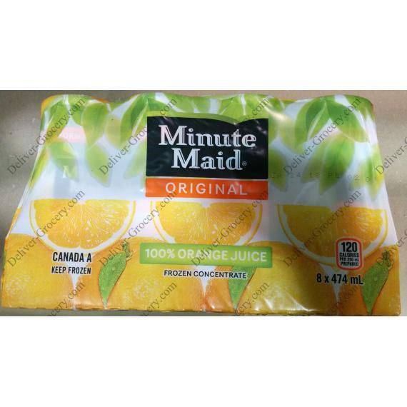 MINUTE MAID Original de Jus d'Orange, 8 x 474 ml
