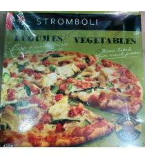 STROMBOLI Vegetables Stone Baked Thin Crust Pizza, 3 x 422 g