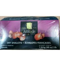 Frais Attitude Échalotes Sèches, 1,36 kg