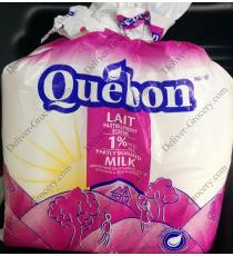 Quebon Partly Skimmed Milk 1%, 4 L