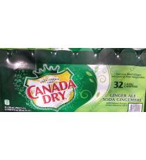 Canada Dry Ginger Ale Cans, 32 x 355 ml